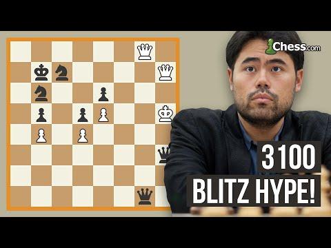 Nakamura's Knockouts: 3100 Blitz Chess Hype!