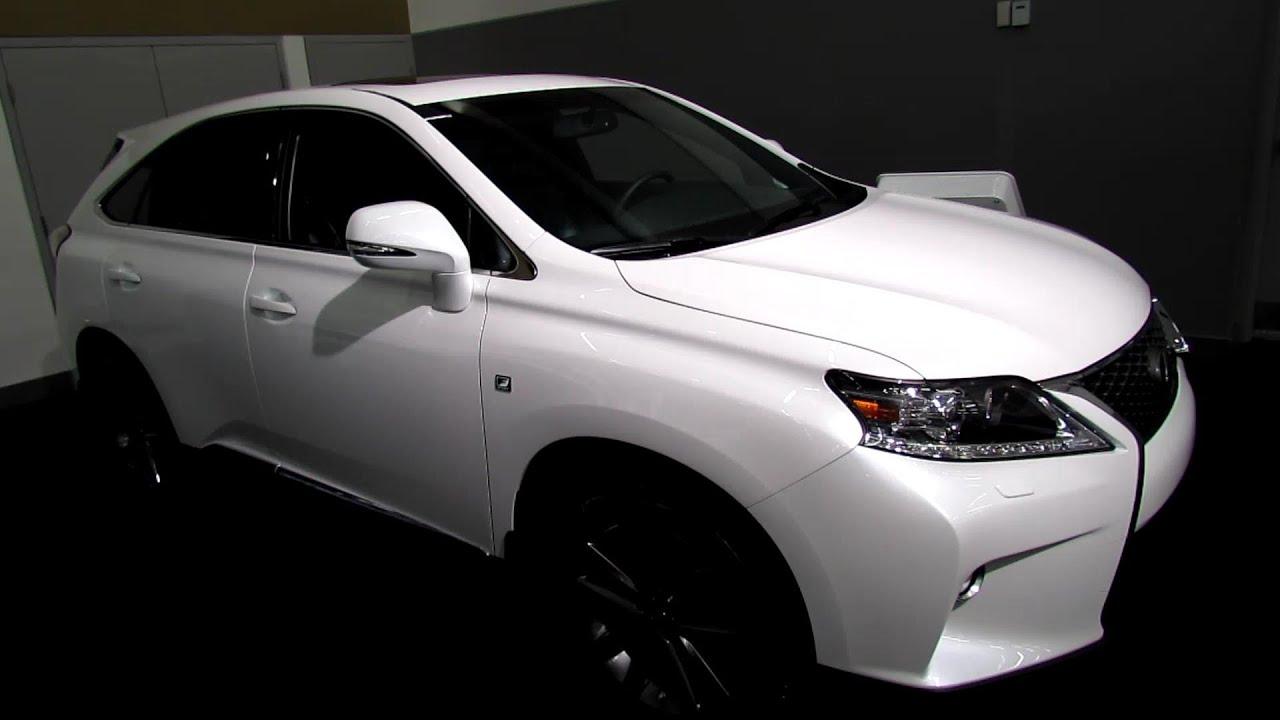 2013 Lexus RX350 F Sport Exterior and Interior Walkaround