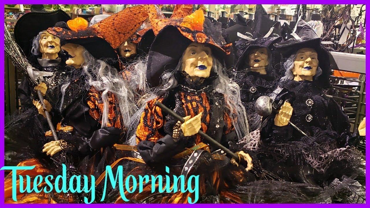 Tuesday Morning Halloween 2020 TUESDAY MORNING * HALLOWEEN DECOR SNEAK PEAK * SHOP WITH ME JULY