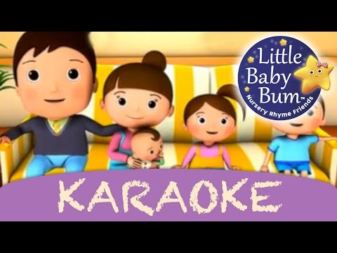 Finger Family | Karaoke Version With Lyrics HD from LittleBabyBum!