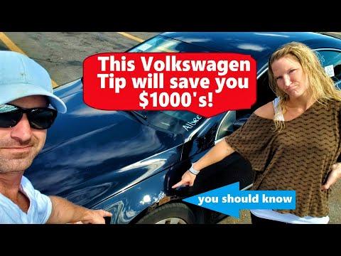 The Best VW Secret You Never Knew! Car Flip Start To Finish