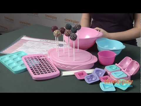 cake pops by bakerella ultimate cake pops set from srm entertainment youtube. Black Bedroom Furniture Sets. Home Design Ideas