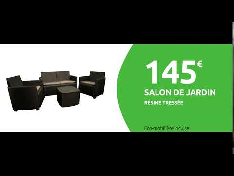 Salon jardin - Mr Bricolage 2019