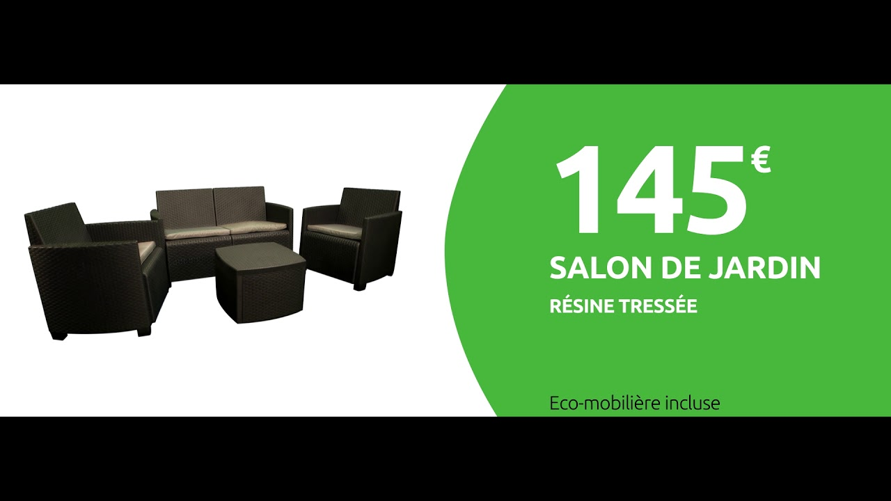 Salon jardin - Mr Bricolage 2019 - YouTube