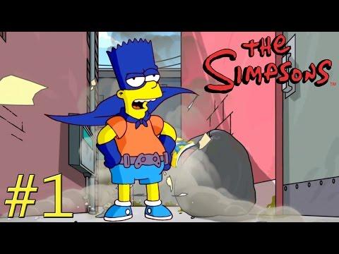 Les Simpson le Jeu #1 FR poster