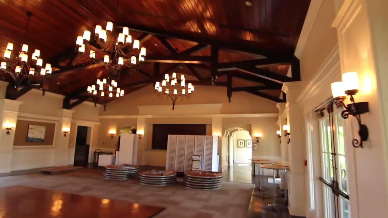 Nocatee Crosswater Hall Video Tour Wedding Reception Lawn