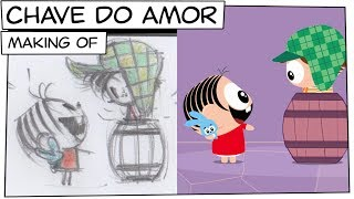Mônica Toy - Making of   Chave do amor (T05E12)