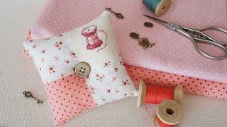 как сделать своими руками мини подушку