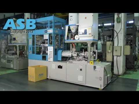 Nissei ASB-12M Injection Stretch Blow Molding Machine