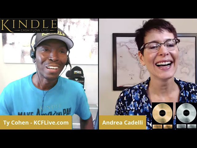 Hear how Andrea Cadell got 142 pre-orders for her 1st book and built a 1400 person list in two weeks