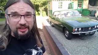 Real Road Test: Rover P6 3500 V8, with special guest!
