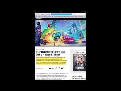 Chargement d'un article sur Fastcompany.com
