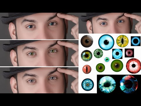 Photoshop Online How To Use Eyes Lens 20 PNG Free SAAD BBC STUDIO Photoshop Tutorials