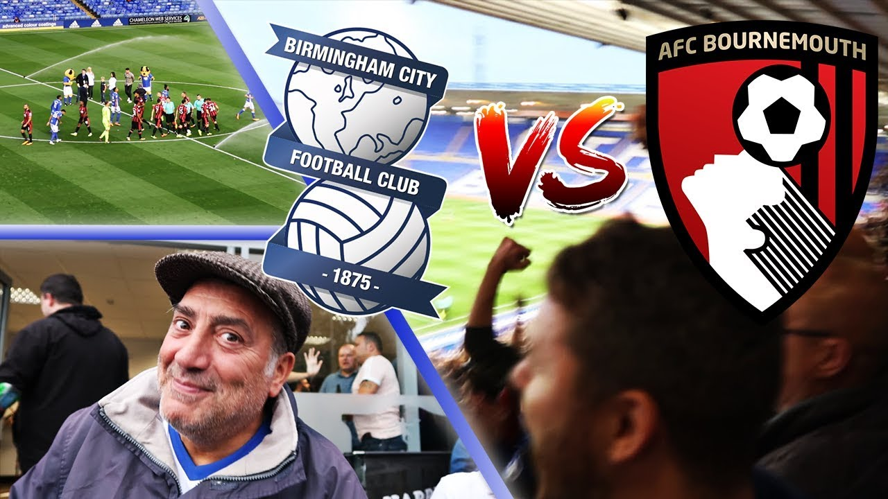 BIRMINGHAM CITY 1-2 AFC BOURNEMOUTH 22/08/2017 | CARABAO CUP ROUND 2 | BCFC  17/18 MATCHDAY VLOGS