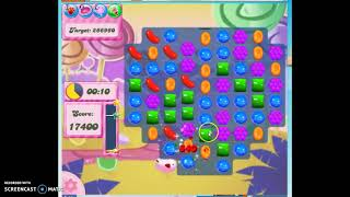 Candy Crush Level 297 Audio Talkthrough, 1 Star 0 Boosters
