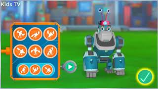 Rusty Rivets Big Bot Party - Nick Junior Rusty and Ruby Game For Kids