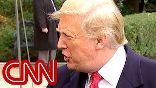 Trump to CNN reporter: What a stupid question