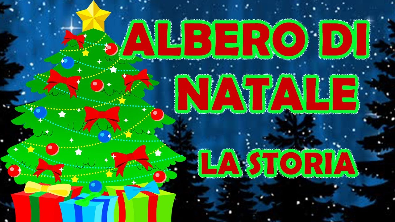 Albero Di Natale Youtube.Albero Di Natale La Storia Youtube