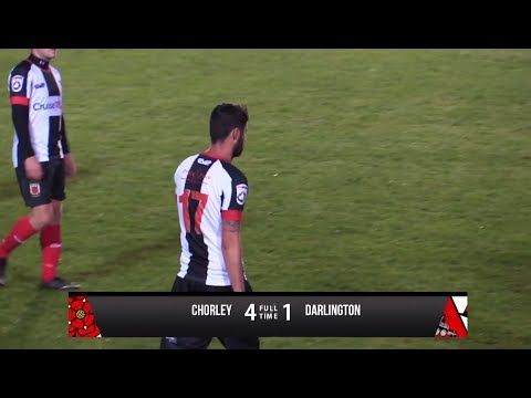 Chorley 4-1 Darlington - Vanarama National League North - 2017/18