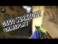 CS:GO [No-Steam] Warzone Gameplay - All CS:GO Skins Free + Gloves!!