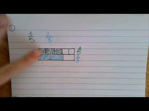 Compare Equivalent Fraction Area Models