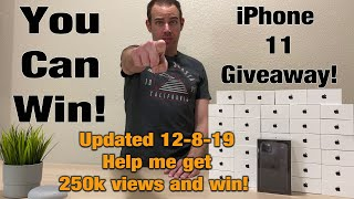 iPhone 11 Giveaway - Anyone Can Win!