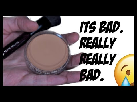 THE WORST FOUNDATION I'VE EVER TRIED!!!!