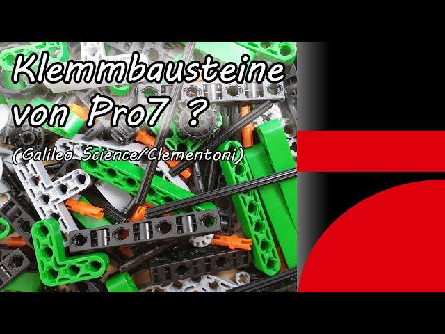 Klemmbausteine von Pro7 ? (Galileo Science Clementoni TechnoLogic) Construction Challenge Helikopter