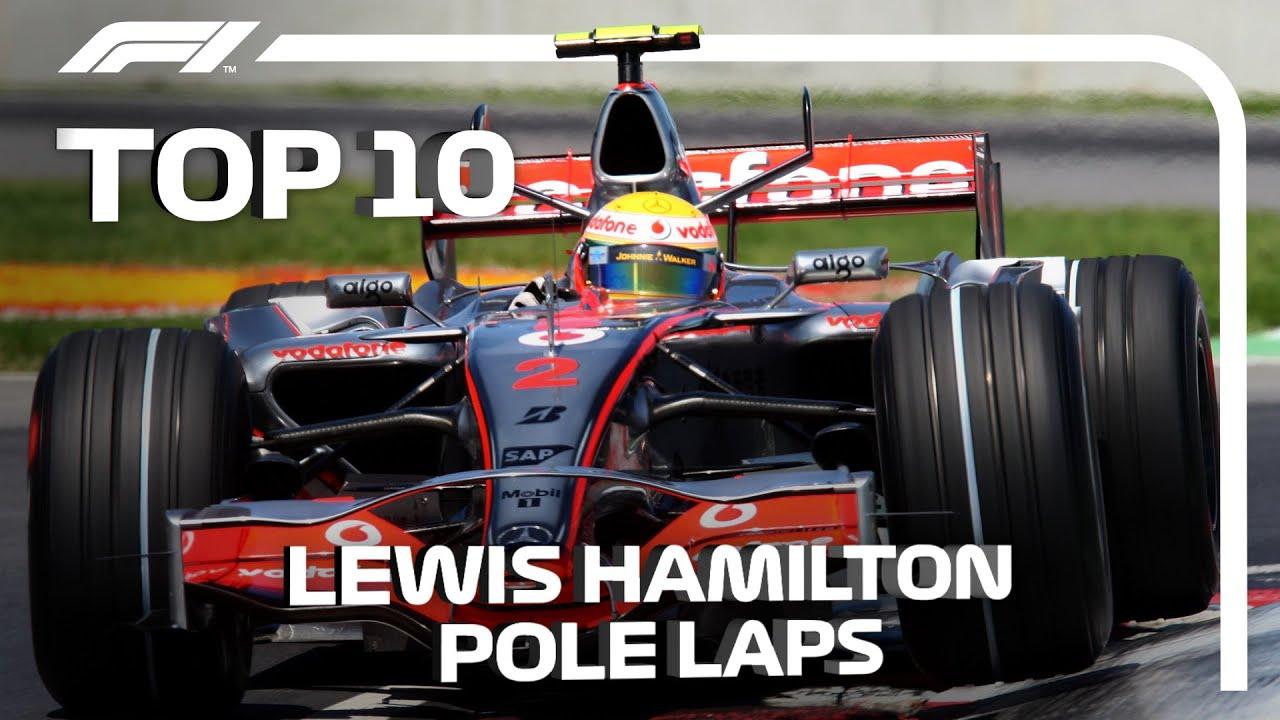 Top 10 Lewis Hamilton Pole Position Laps