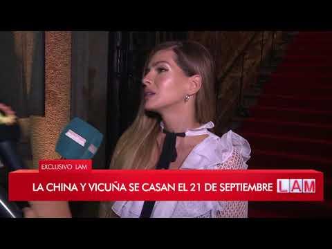 Benjamín Vicuña y La China Suárez confirmaron fecha de casamiento