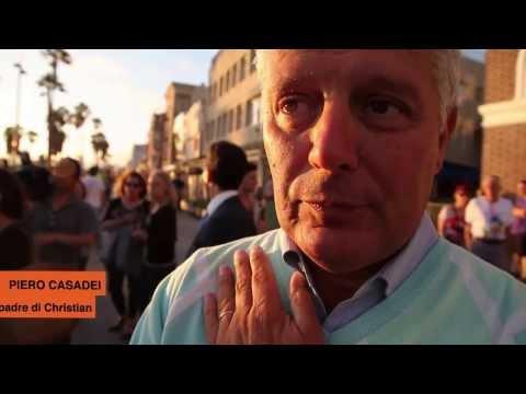 Venice Beach, la famiglia di Alice sul luogo dell'incidente