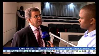 Leuta Motlogelwa speaks to AngloGold Ashanti CEO