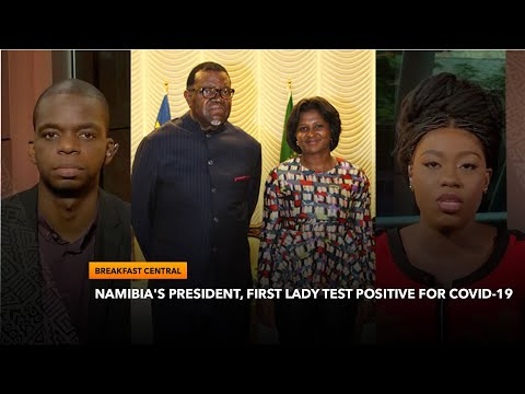 Namibian President Hage Geingob And First Lady Monica Test Positive For Covid-19 | Breakfast Central