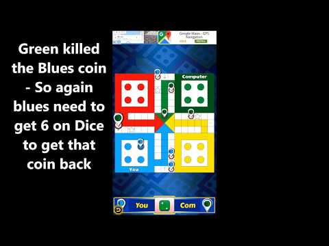 How to play LUDO    Complete Game With...