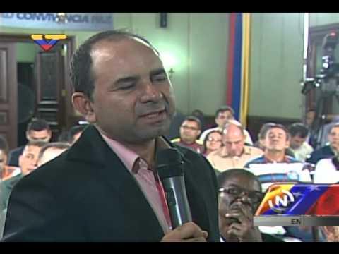 Juan Carlos Tanus, de Colombianos en Venezuela, hace propuestas al Pdte Nicolás Maduro