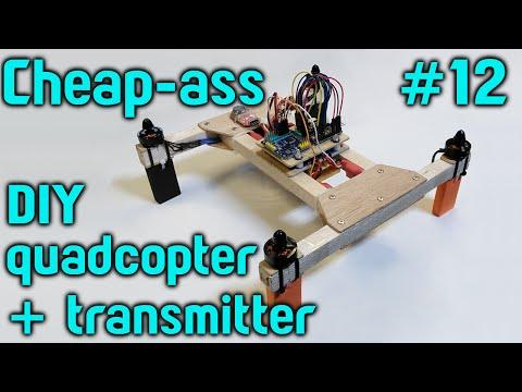 Cheap-ass quadcopter build Part 12 - Arduino conversion of HK transmitter