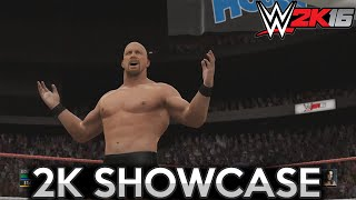 Stone Cold vs Bret Hart - Revenge of The Taker ✦ 【WWE 2K16 - 2K Showcase #4】