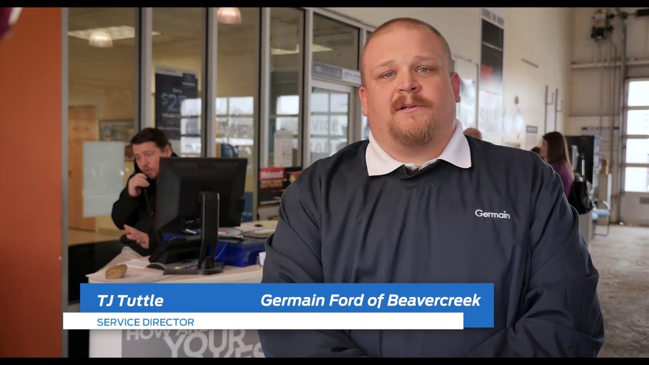 Service At Germain Ford Of Beavercreek Youtube