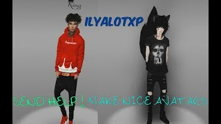 Imvu making a guy avatar| outfit unavailable?| Disabled?