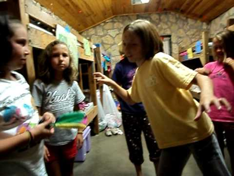 Peteca At Cabin Clements Cabin Camp Classen 2010 Youtube