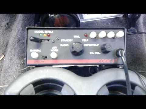 Brand New Code 3 Mastercom B Siren Doovi