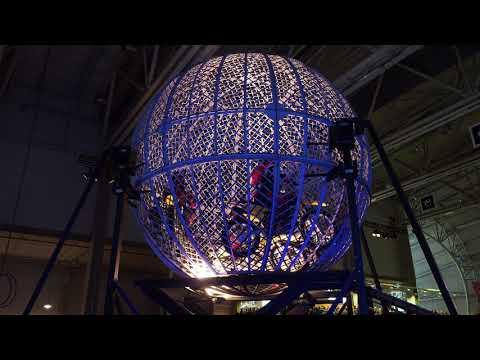 Diorios Globe of Death finland 2018