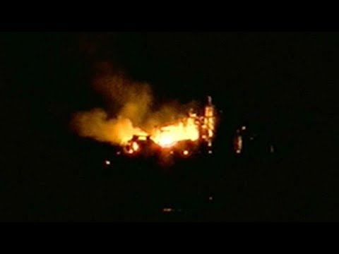 At least six injured in oil rig explosion in Louisiana