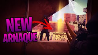 A NEW METHOD of ARNAQUE WITH THE TELEPORTERS! Fortnite Saving the World