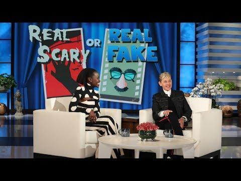 Lupita Nyong'o Plays a Game of 'Real Scary or Real Fake?'