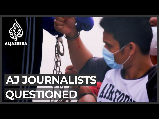 Al Jazeera journalists questioned over Malaysia documentary