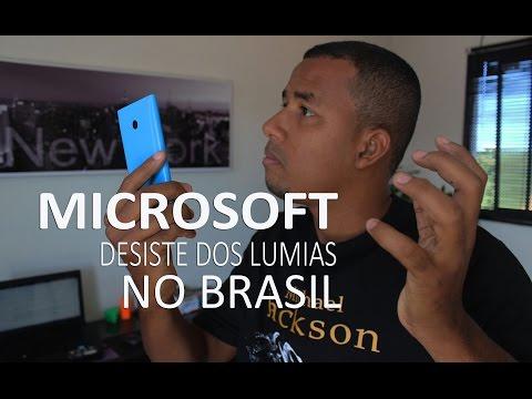 Microsoft - Adeus aos Lumias no Brasil