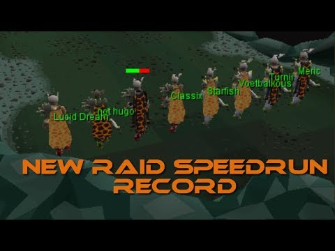 OSRS NEW RAID RECORD(No Void)