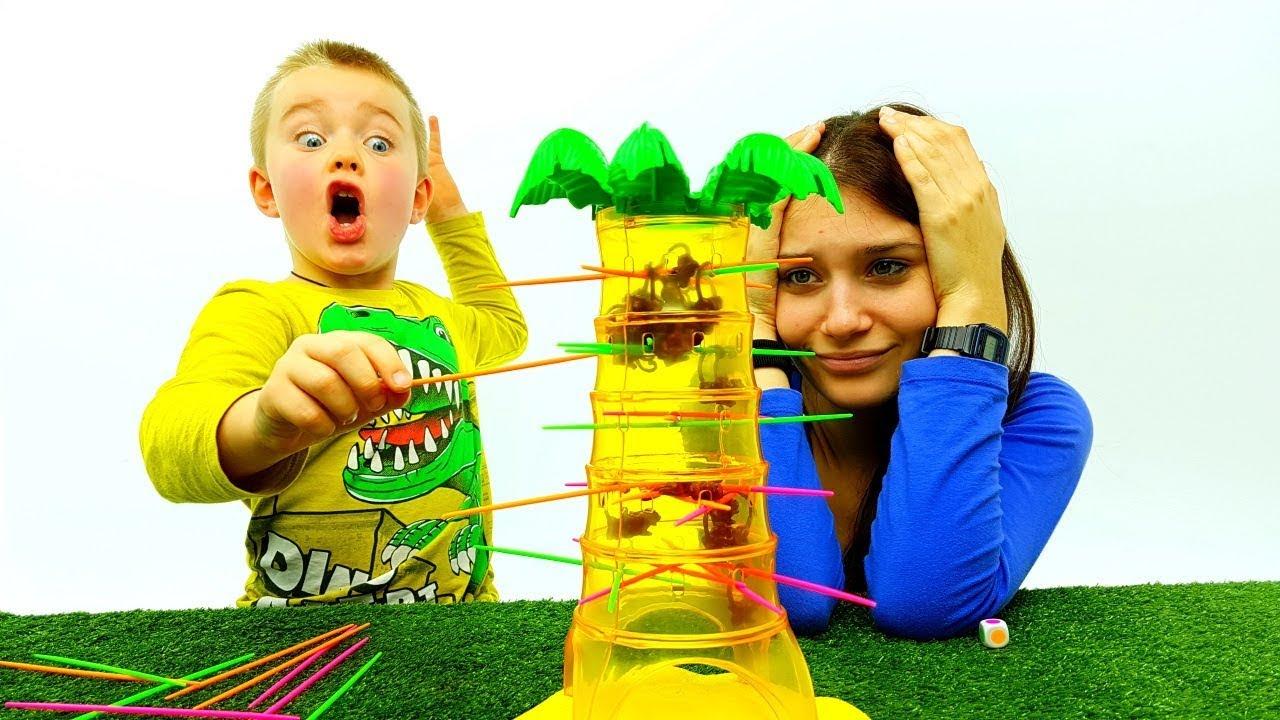 Tavoli Da Gioco Per Bambini : Salva le scimmie gioco da tavolo giochi per bambini e ragazzi