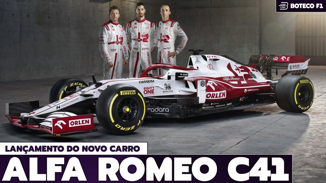 Lançamento do C41 da ALFA ROMEO | Lá vem a FÓRMULA 1 2021! 🏎🔴😍